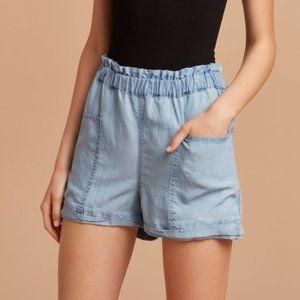 Community - Chambray Doddridge High Waisted Shorts